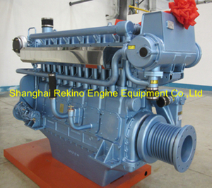 Weichai WHM6160C580-5 marine propulsion diesel engine motor 580HP 1500RPM