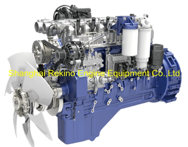 Weichai WP6.245E50 construction diesel engine 245HP 2300RPM for Crane