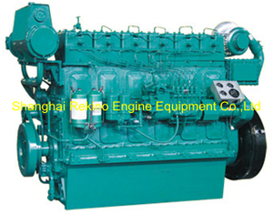 Weichai WHM6160C450-1 marine propulsion diesel engine motor 450HP 1000RPM