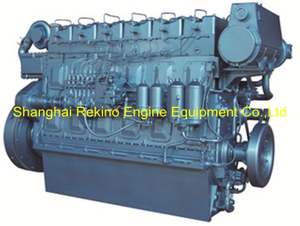 Weichai WHM6160C550-5 marine propulsion diesel engine motor 550HP 1500RPM