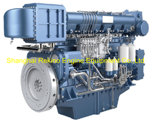 Weichai WHM6160C620-5 marine propulsion diesel engine motor 620HP 1500RPM