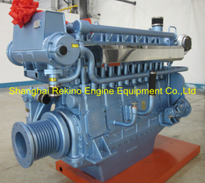Weichai WHM6160MC756-5 marine propulsion diesel engine motor 756HP 1500RPM