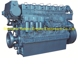 Weichai WHM6160C450-5 marine propulsion diesel engine motor 450HP 1500RPM